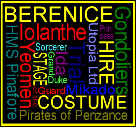 Berenice Stage Costume Hire